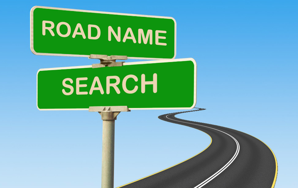 Road Name Search