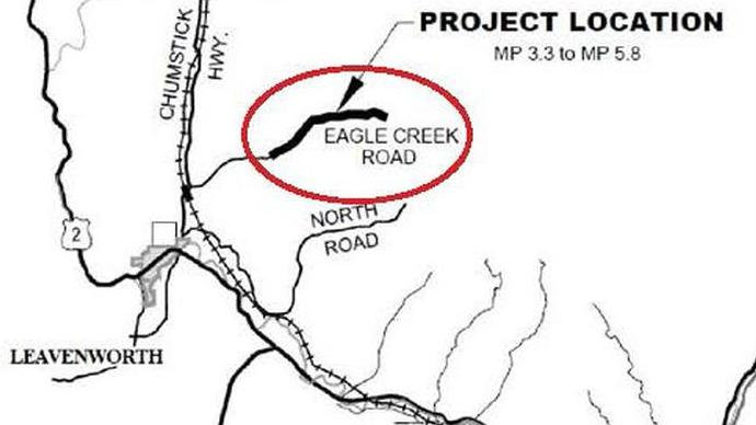 Work begins on Eagle Creek Road improvement project
