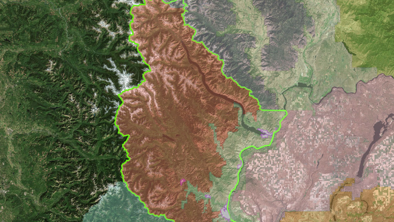 Chelan County Fire Danger Areas