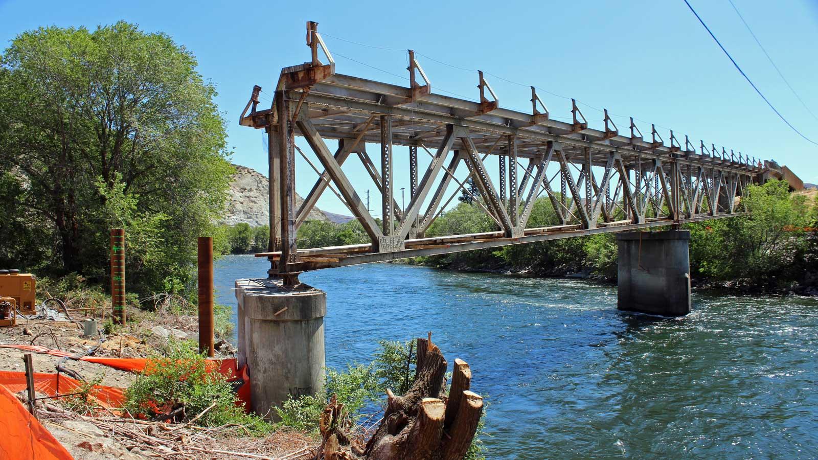 West Cashmere Bridge: In-water construction window starts July 15