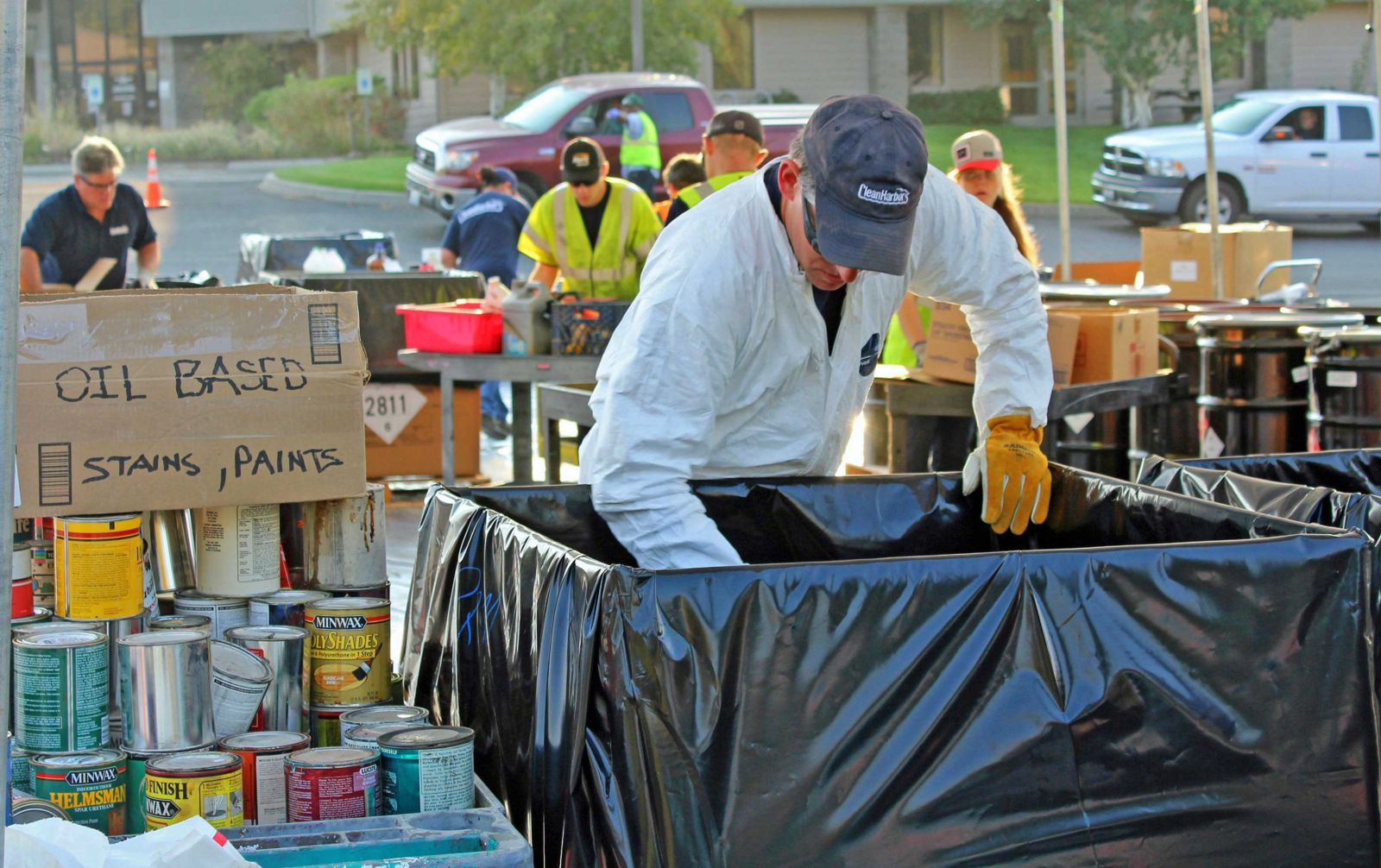 Businesses with hazardous waste have a new option for disposal