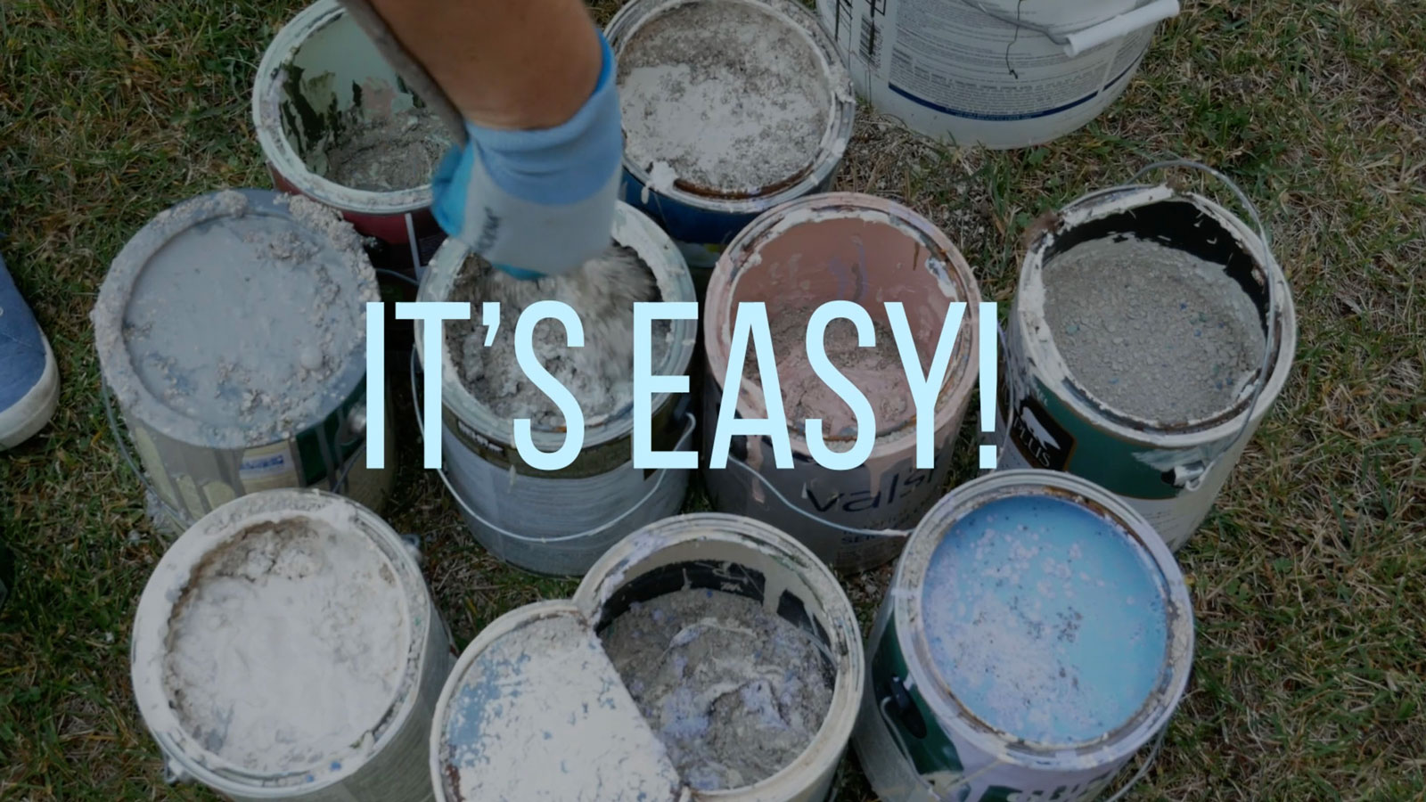 How do I dispose of latex paint?